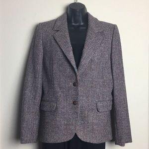 Harris Tweed 100% Scottish Wool Tweed Blazer 8
